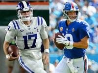 Tate on Manning to Jones: Mais ou menos como Favre to Rodgers