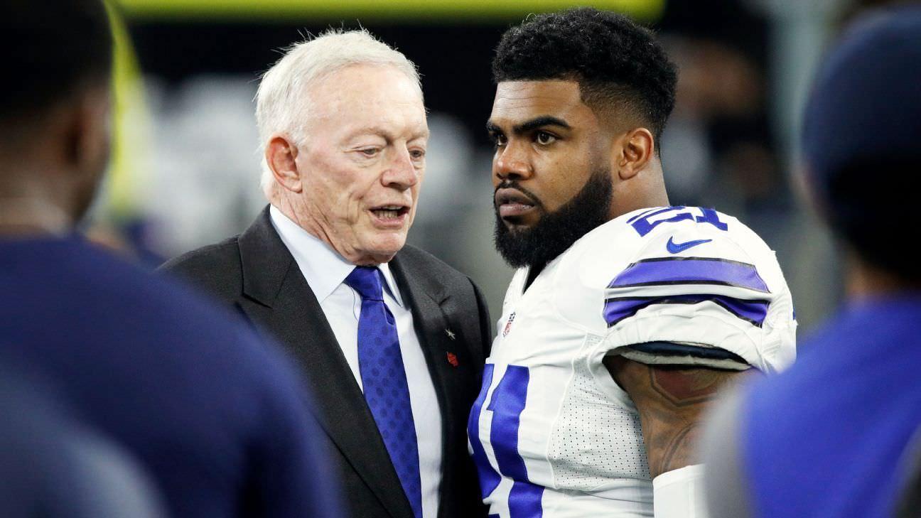 Jerry não espera que a NFL discipline disciplina Elliott