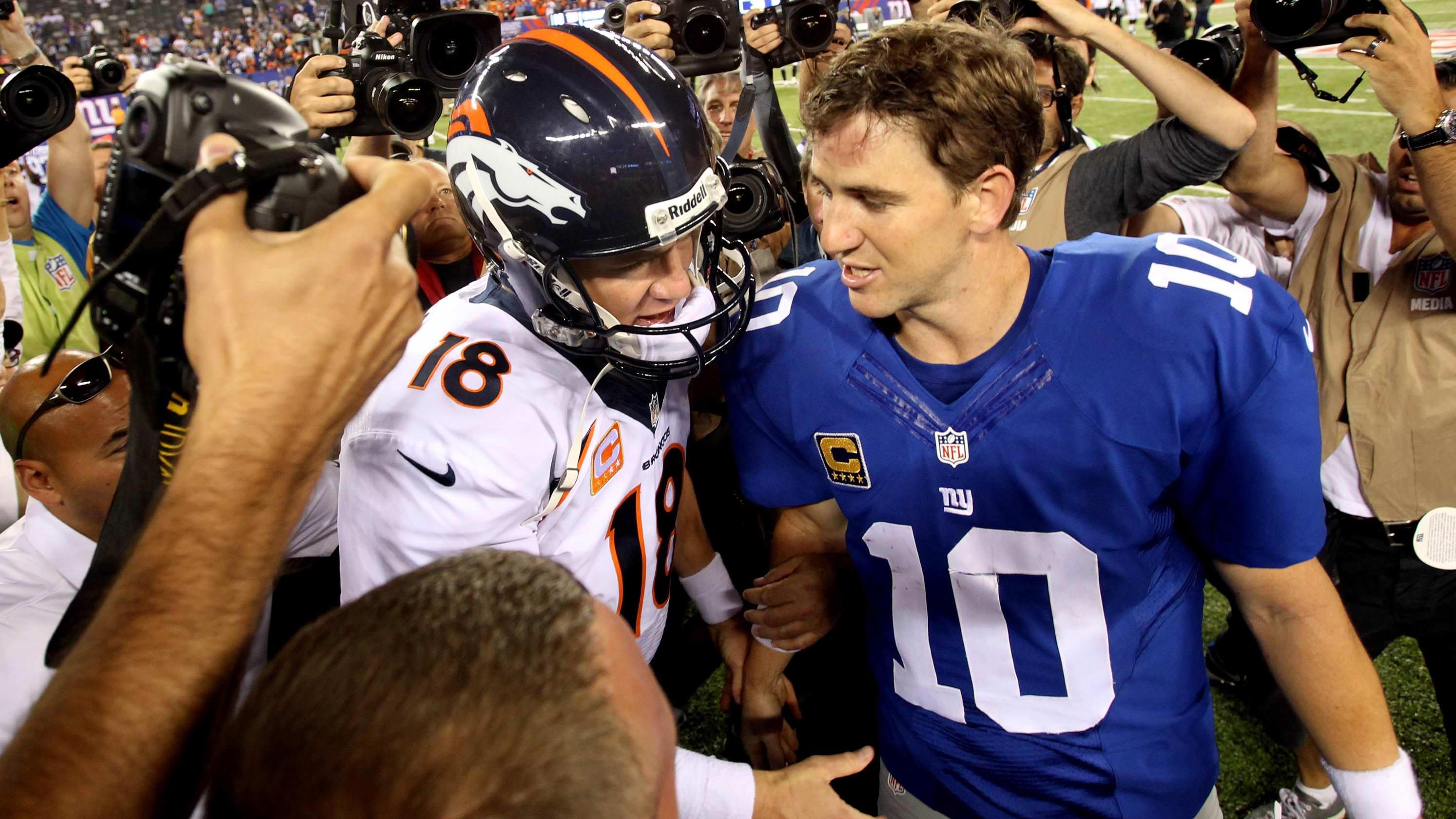 4ª e segunda-feira: Você não ouviu a última família Manning QB