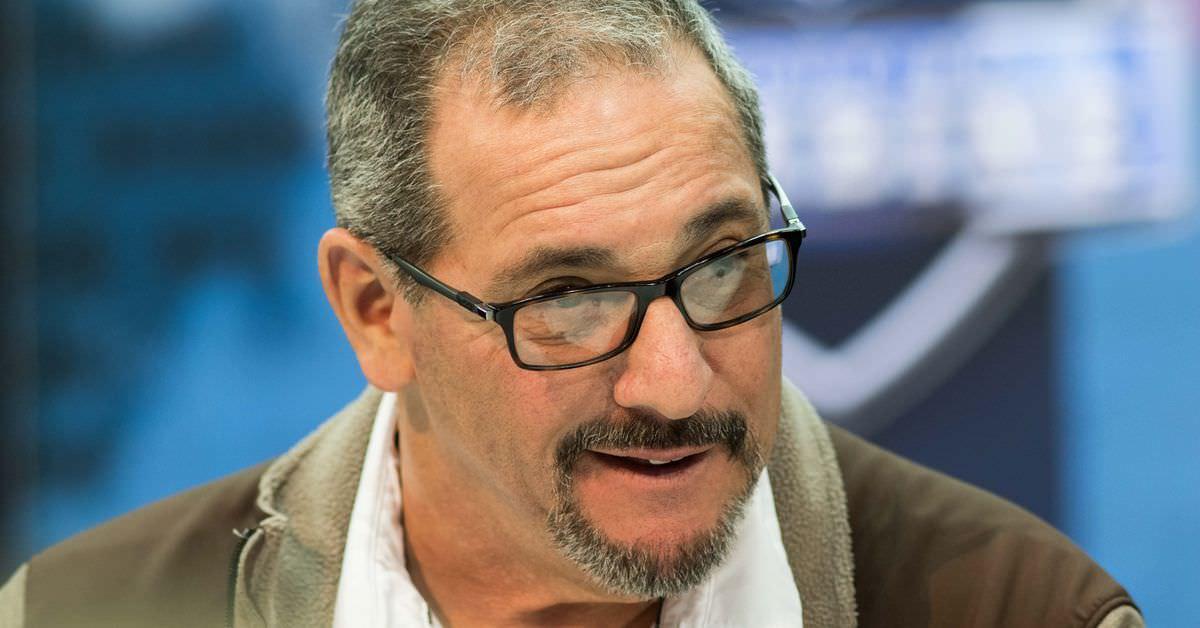 """GM Jeff Diamond – GM Dave Gettleman """"não tem que explicar suas escolhas de draft para ninguém, exceto Jo … – Big Blue View"""