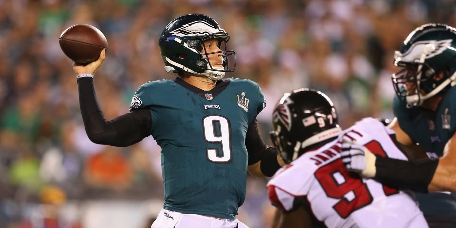 O melhor valor joga na sua formação DraftKings para a 2ª semana da temporada da NFL
