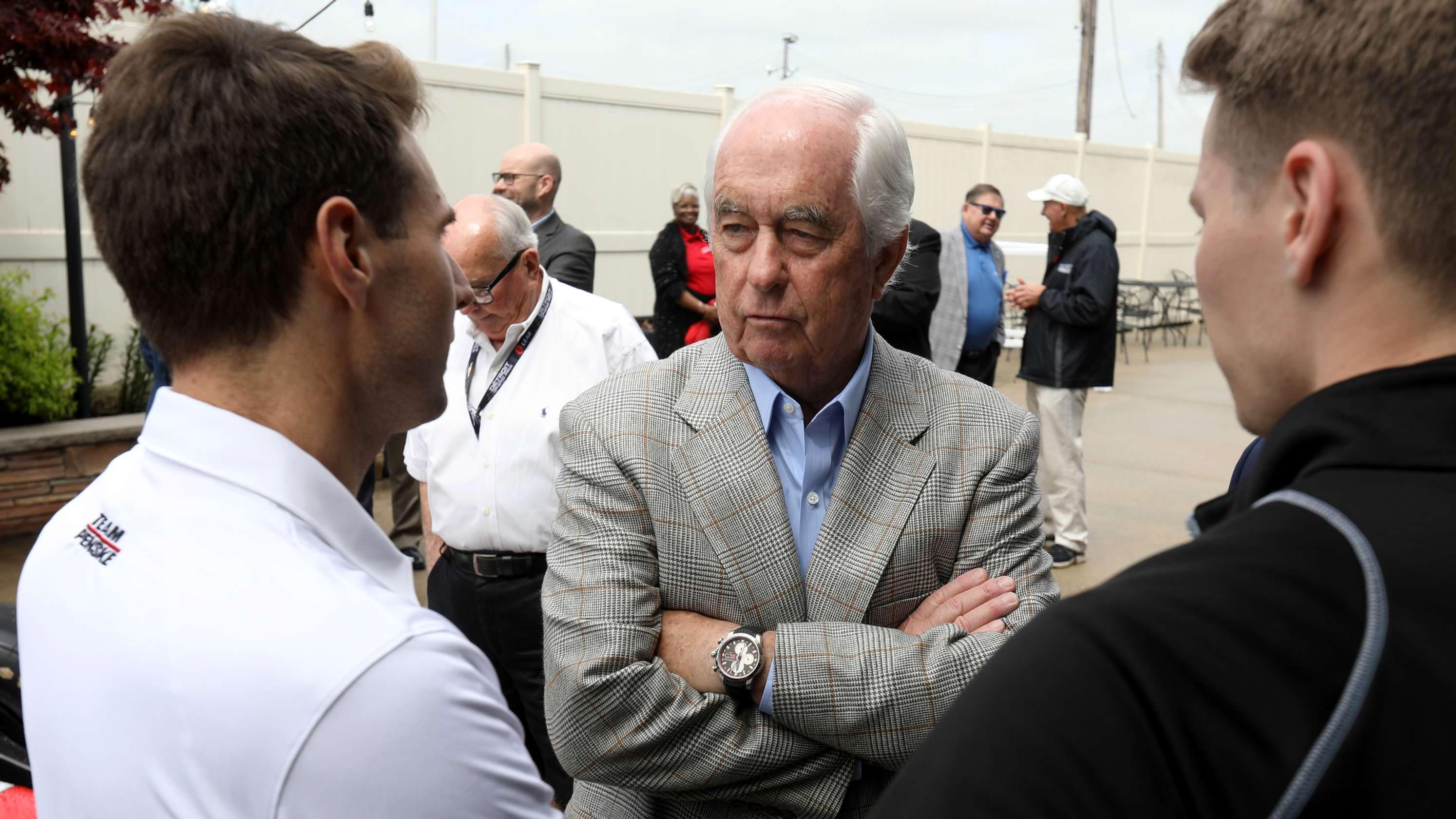 Roger Penske se concentrou em vencer as corridas da IndyCar na Belle Isle, não levando o draft da NFL para Detroit