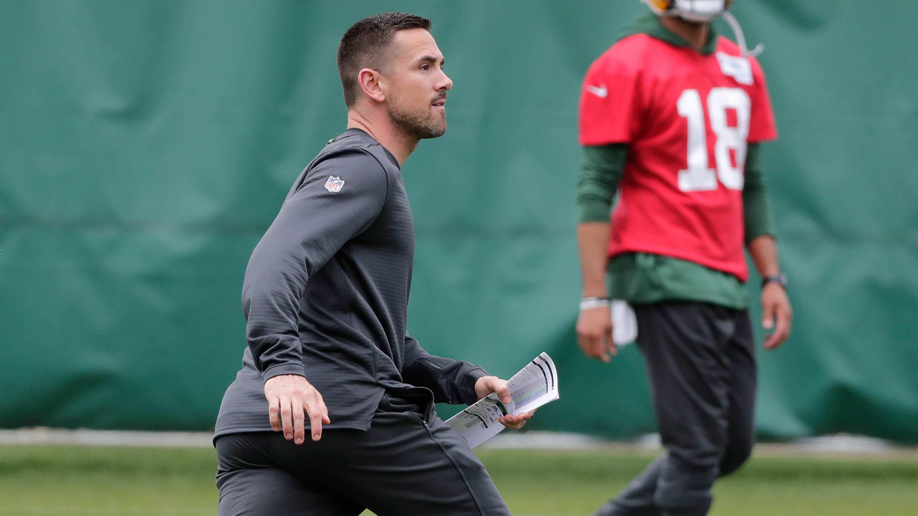 Matt LaFleur, treinador dos Packers, sofre um tendão de Aquiles rasgado a jogar basquetebol, por relatório