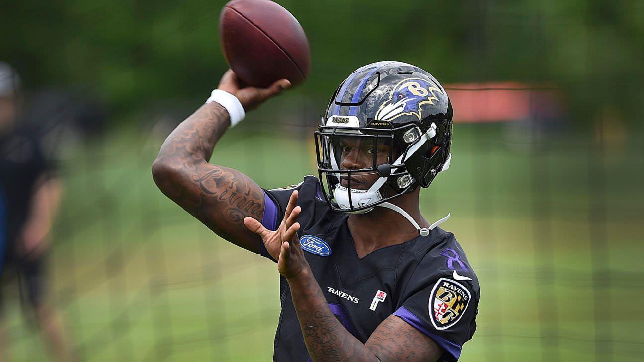 Proprietário dos Ravens: QB Jackson correrá menos em 2019