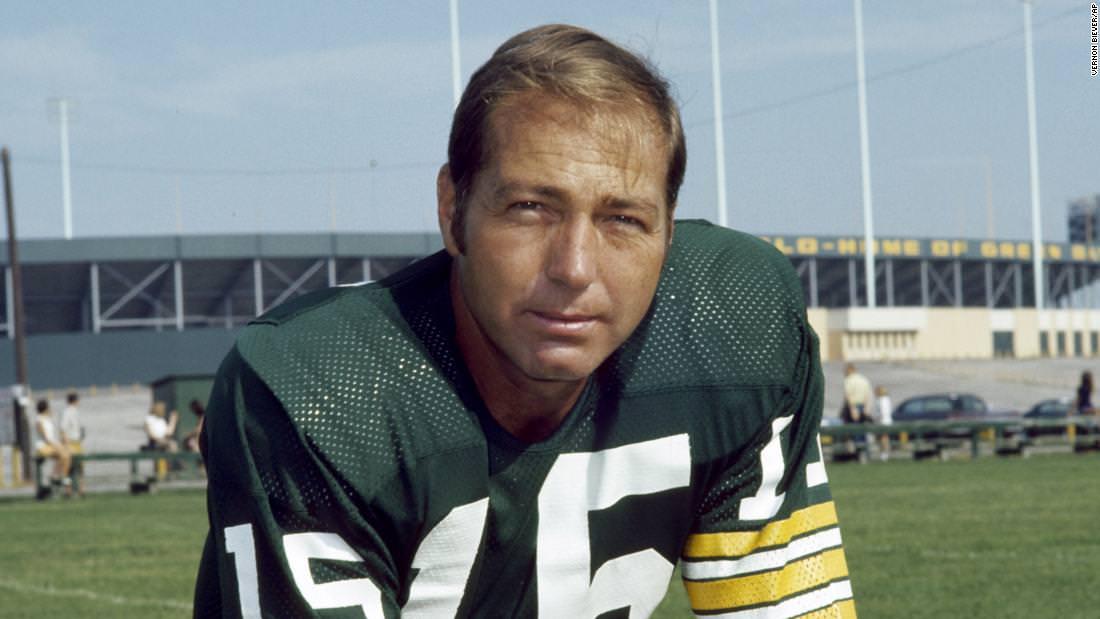 O lendário quarterback do Green Bay Packers, Bart Starr, morre aos 85 anos