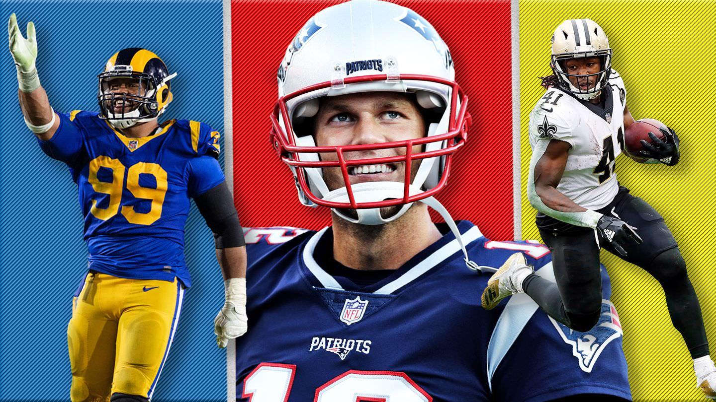 Ranking das listas de 2019 para todas as 32 equipes da NFL