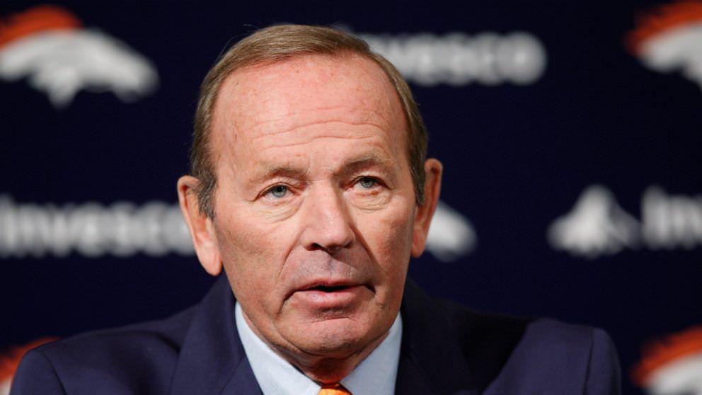 Pat Bowlen, proprietário do Denver Broncos, morre aos 75 anos
