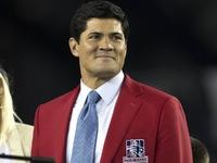 Ex-Patriots LB Bruschi 'fazendo muito melhor' depois do acidente vascular cerebral
