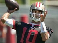 Aprender com Brady era 'tremendo' para Garoppolo