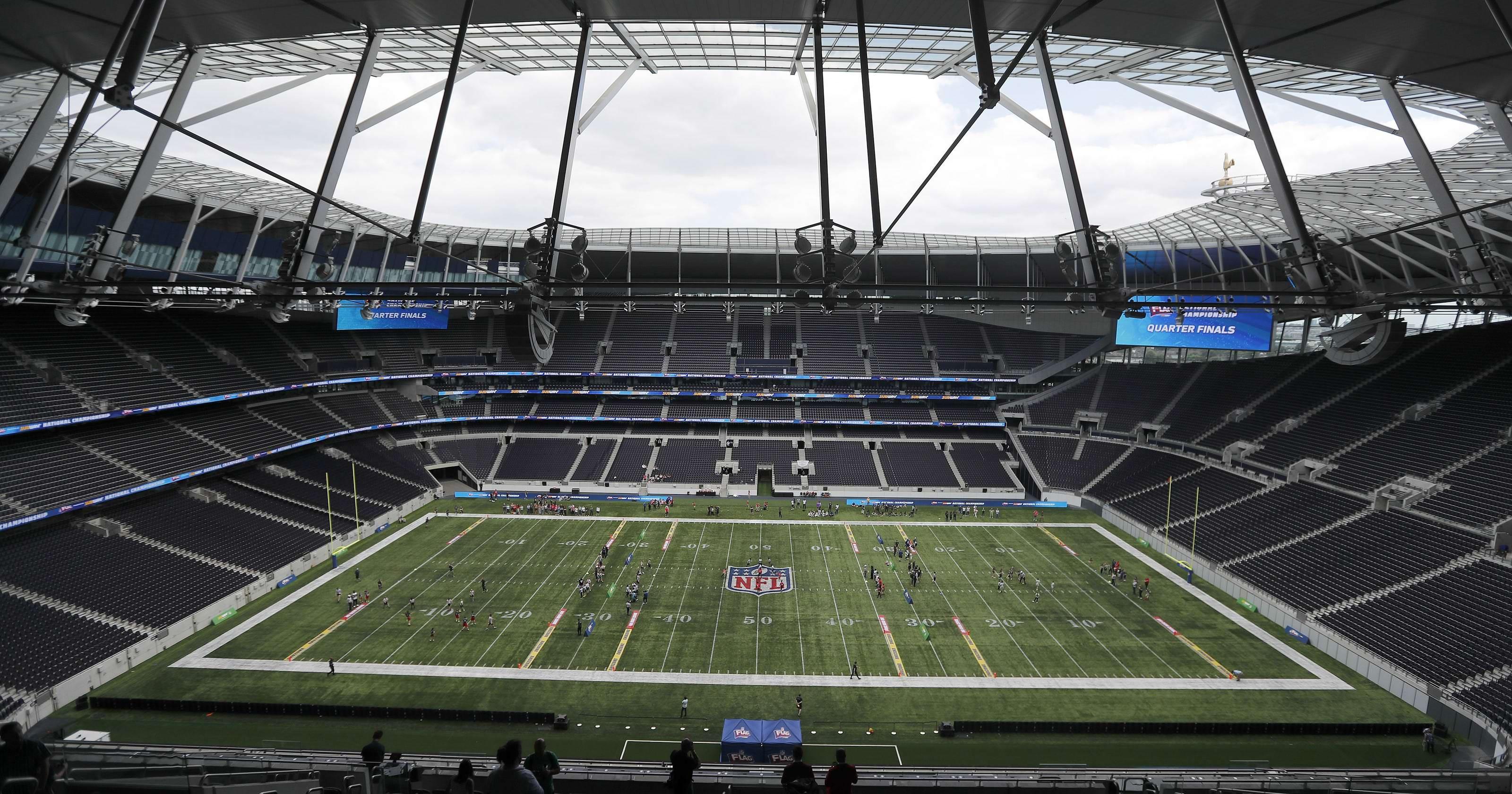 NFL abre academia de futebol em Londres
