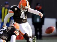 Browns kicker Phil Dawson se aposenta depois de 21 anos