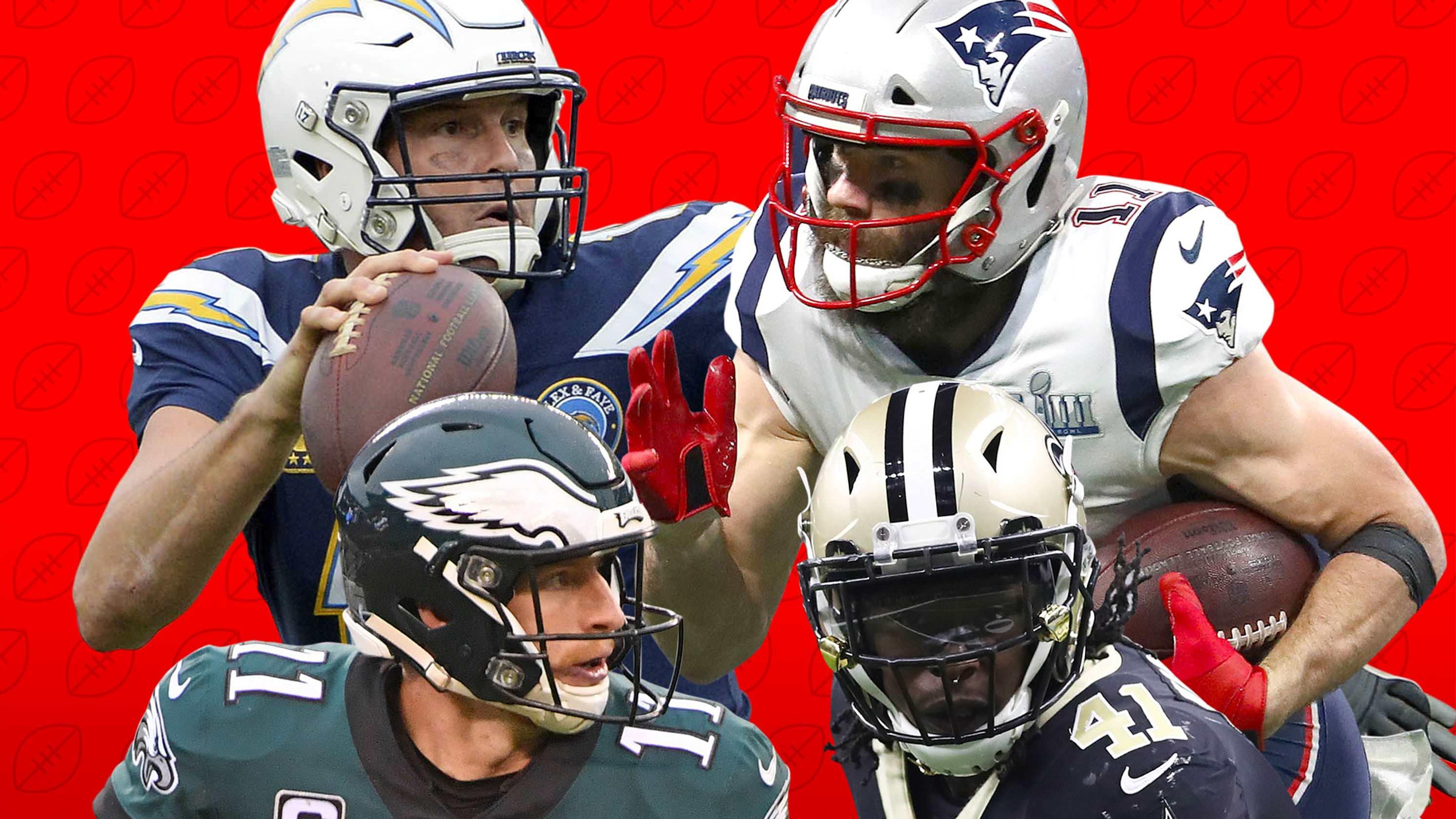 Projeções de registro de 2019 NFL: Os carregadores podem impedir que uma corrida dos patriotas ao LIV da bacia super?
