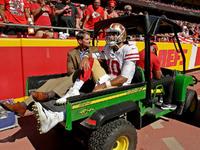 A ferida de Jimmy Garoppolo rouba 49ers do líder, talvez estação – NFL.com
