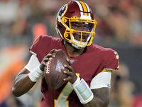 Redskins felizes com o progresso de Dwayne Haskins