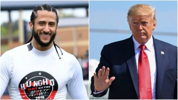 Colin Kaepernick: Donald Trump apóia o quarterback da NFL