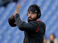 Mayfield: Browns WRs 'devem estar lambendo suas costeletas'