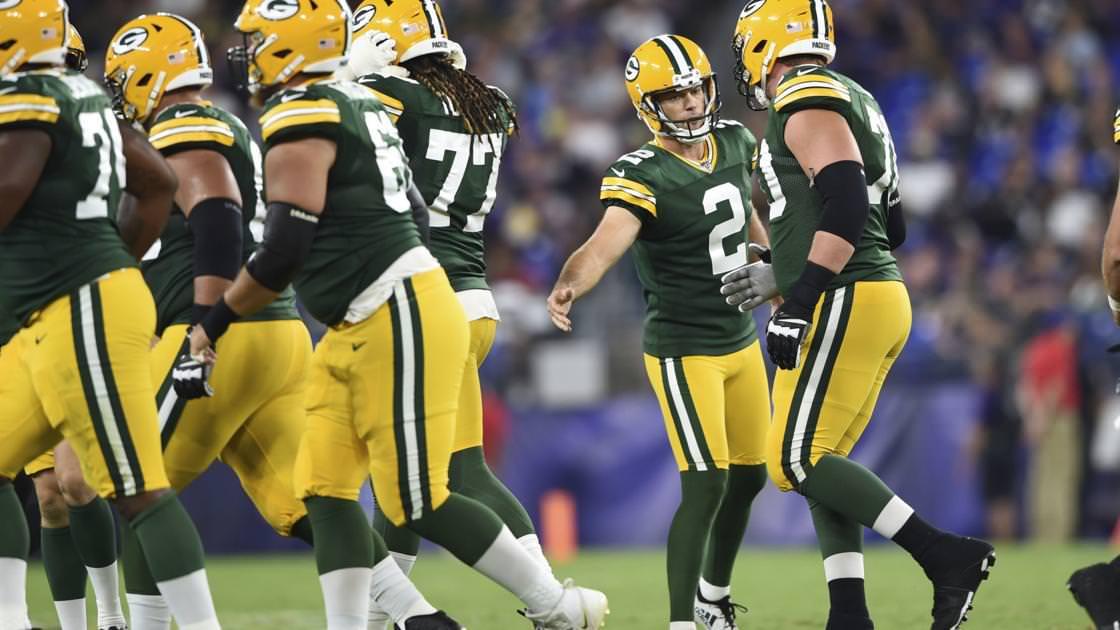 Imperturbável pela competição e ainda confiante, o kicker do Packers, Mason Crosby, pretende ficar por perto – Madison.com