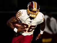 Adrian Peterson de volta à formação inicial do Redskins