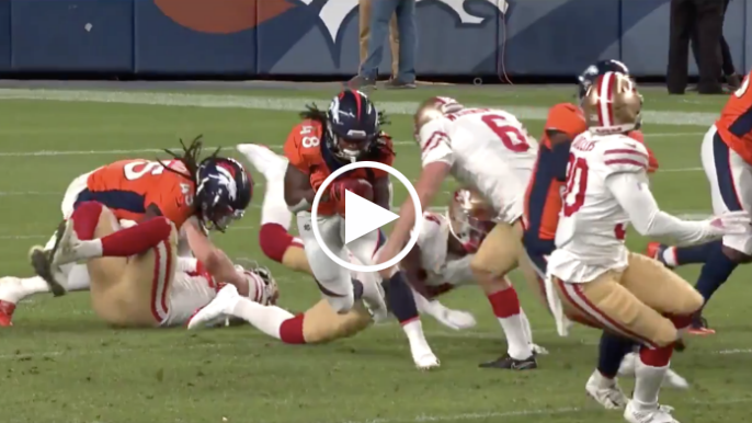 O apostador novato do 49ers coloca grande sucesso no jogador do Broncos – KNBR