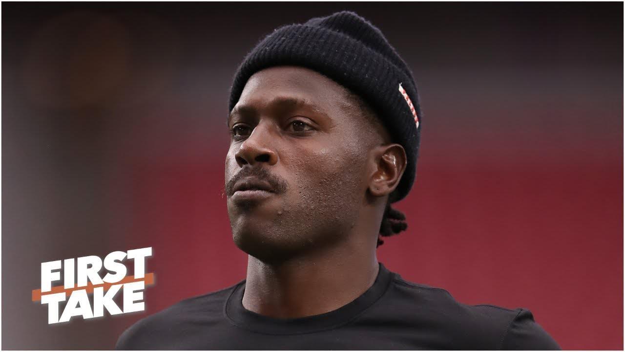 Antonio Brown jogará no Patriots vs. the Dolphins na semana 2   Primeira tomada – ESPN