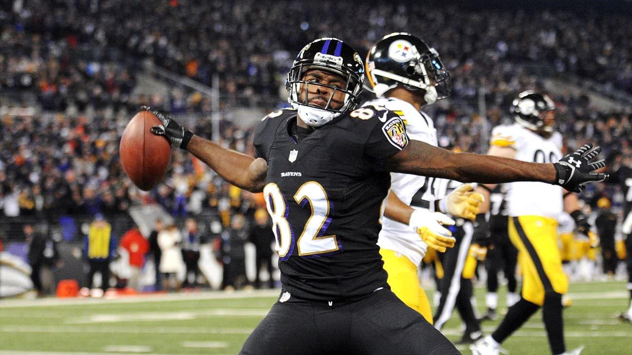 Torrey Smith se aposenta após 8 temporadas na NFL