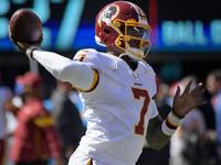 Haskins, novato em Redskins, substitui Keenum em derrota