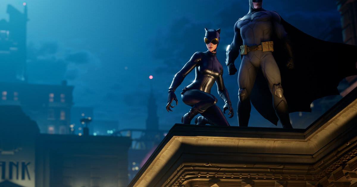 Batman chega a 'Fortnite' junto com Catwoman e Gotham City