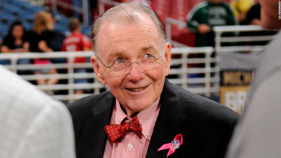 Proprietário de longa data do Arizona Cardinals morre aos 88 anos