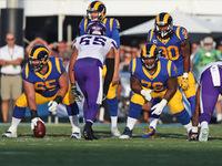 Jared Goff, Robert Woods crédito O-line para o começo perfeito Rams '- NFL.com