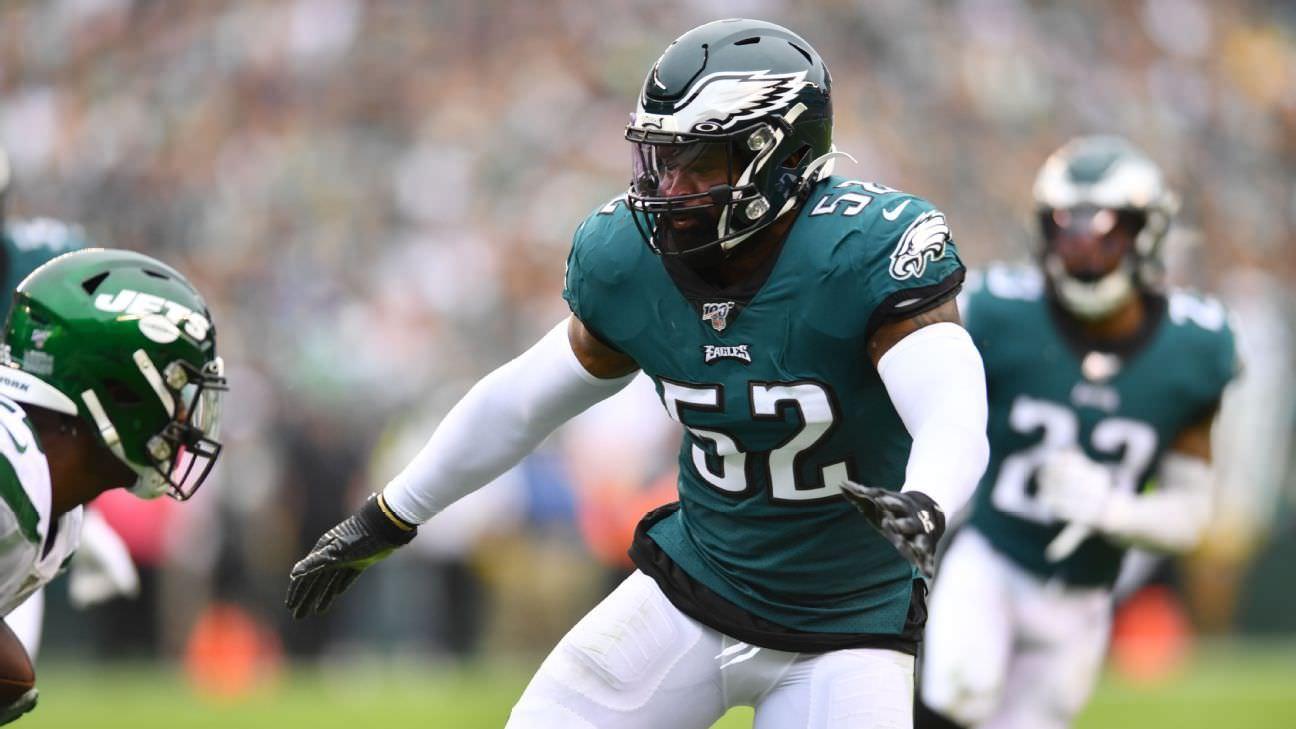 Eagles corta LB Brown após críticas de primos