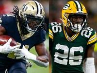 Semana 7 relatório de lesões para os jogos da NFL de domingo