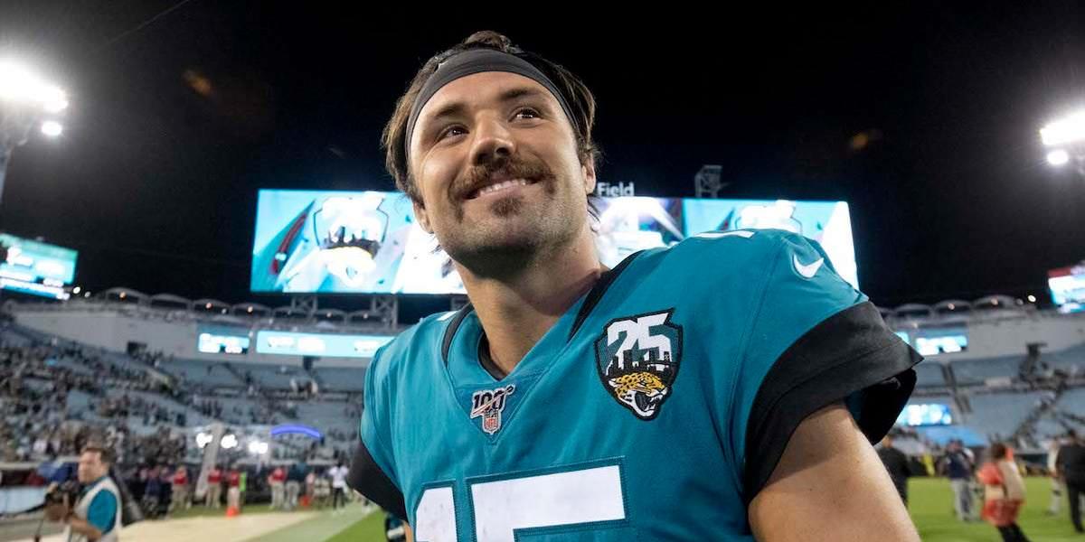 Como Gardner Minshew, o quarterback novato da sexta rodada do Bigode dos Jaguars, se tornou uma estrela e o homem mais interessante da NFL