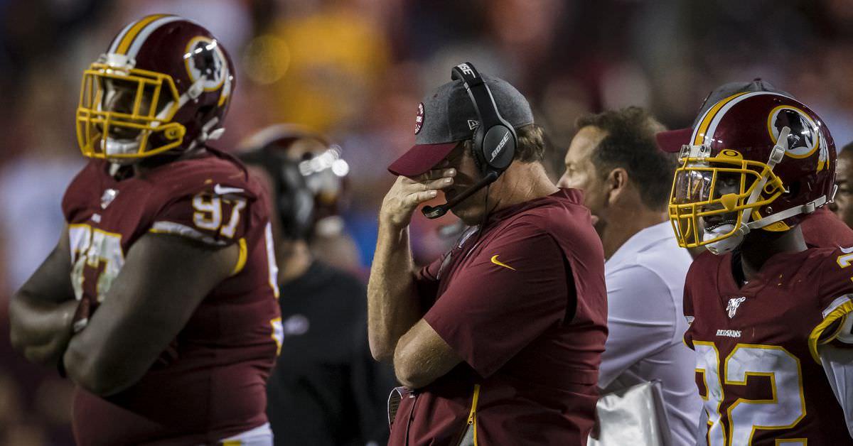 """Jay Gruden Redskins Presser: """"Meu playcalling não é bom o suficiente"""" – Hogs Haven"""