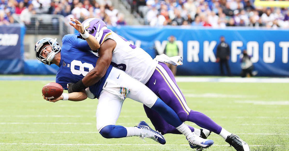 Danielle Hunter empatou um recorde significativo da NFL no domingo – Daily Norseman
