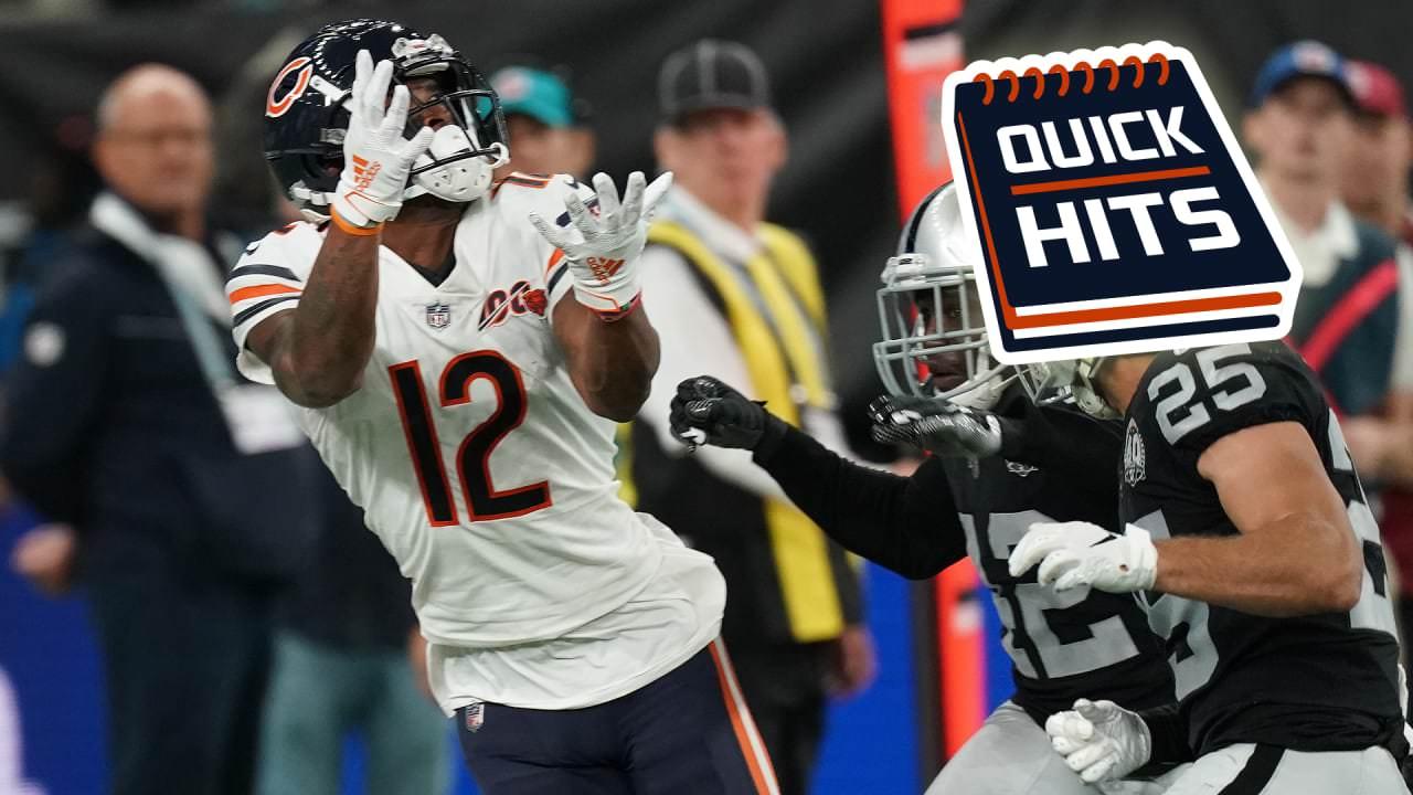 Hits rápidos: Robinson se destaca e Hicks se machuca – ChicagoBears.com