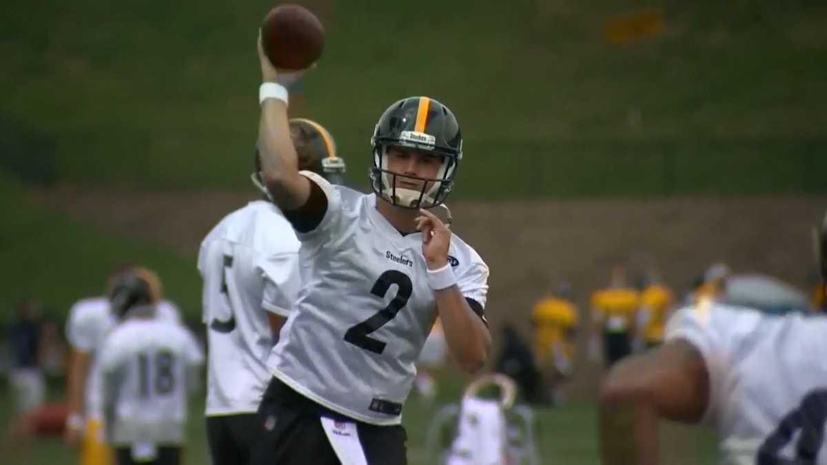 Steelers QB Mason Rudolph sai do campo depois de ser atingido no domingo contra o Baltimore – WTAE Pittsburgh