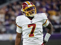 O novato dos Redskins, QB Dwayne Haskins, começará contra o Bills