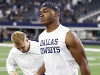 Amari Cooper (joelho) do Cowboys espera jogar domingo