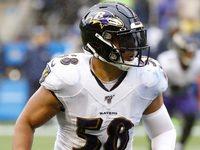 Ravens assina LB L.J. Fort para extensão de dois anos e US $ 5,5 milhões