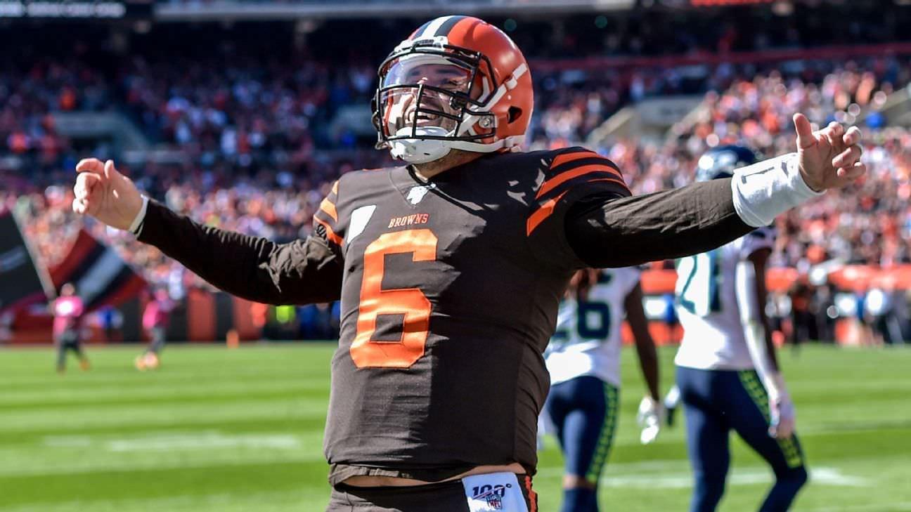 Espere, os Browns têm um caminho de playoff? Cinco divertidos cenários da NFL para assistir