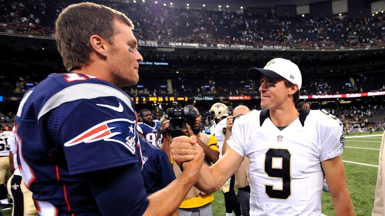 Vida após Brady, Brees e os melhores QBs da época: Como seria a NFL?