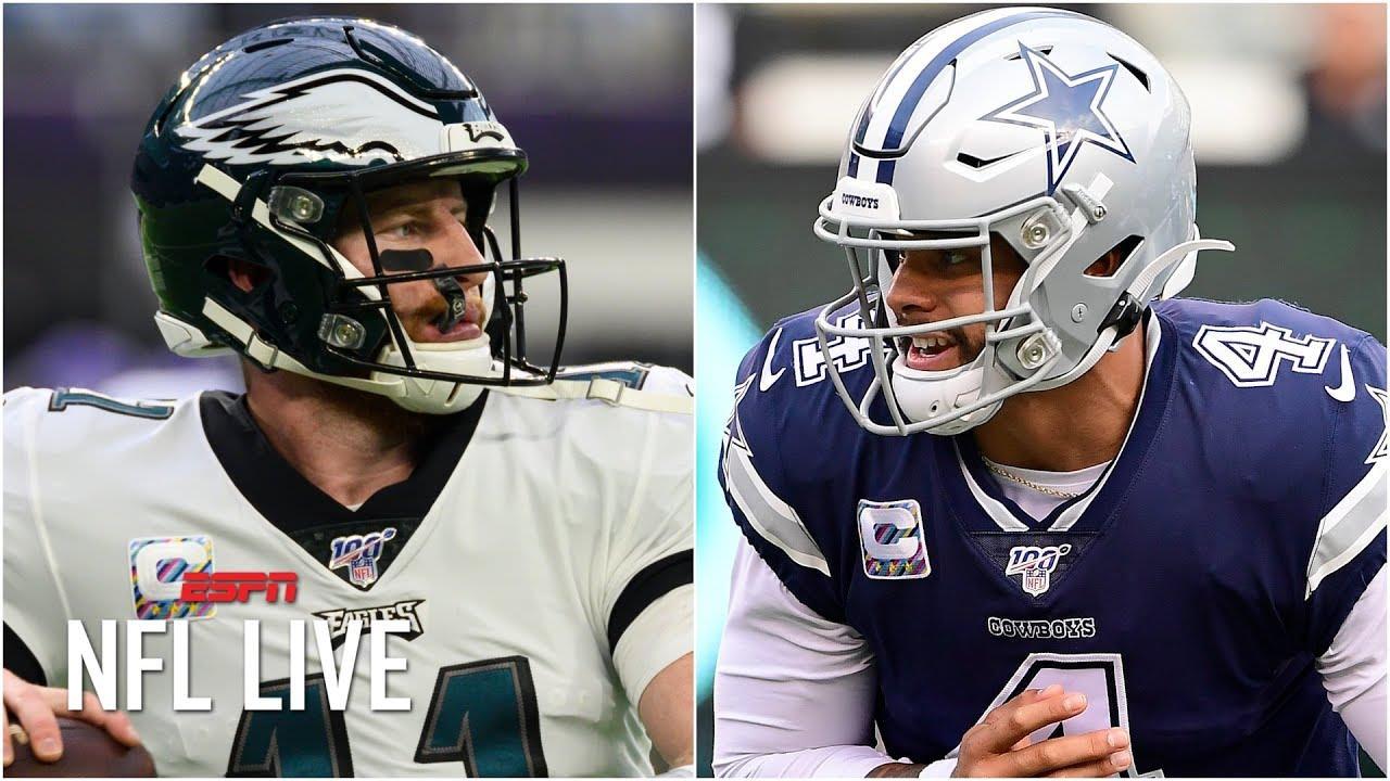 NFL Live prevê vencedores da semana 7 da temporada 2019 da NFL | NFL Live – ESPN