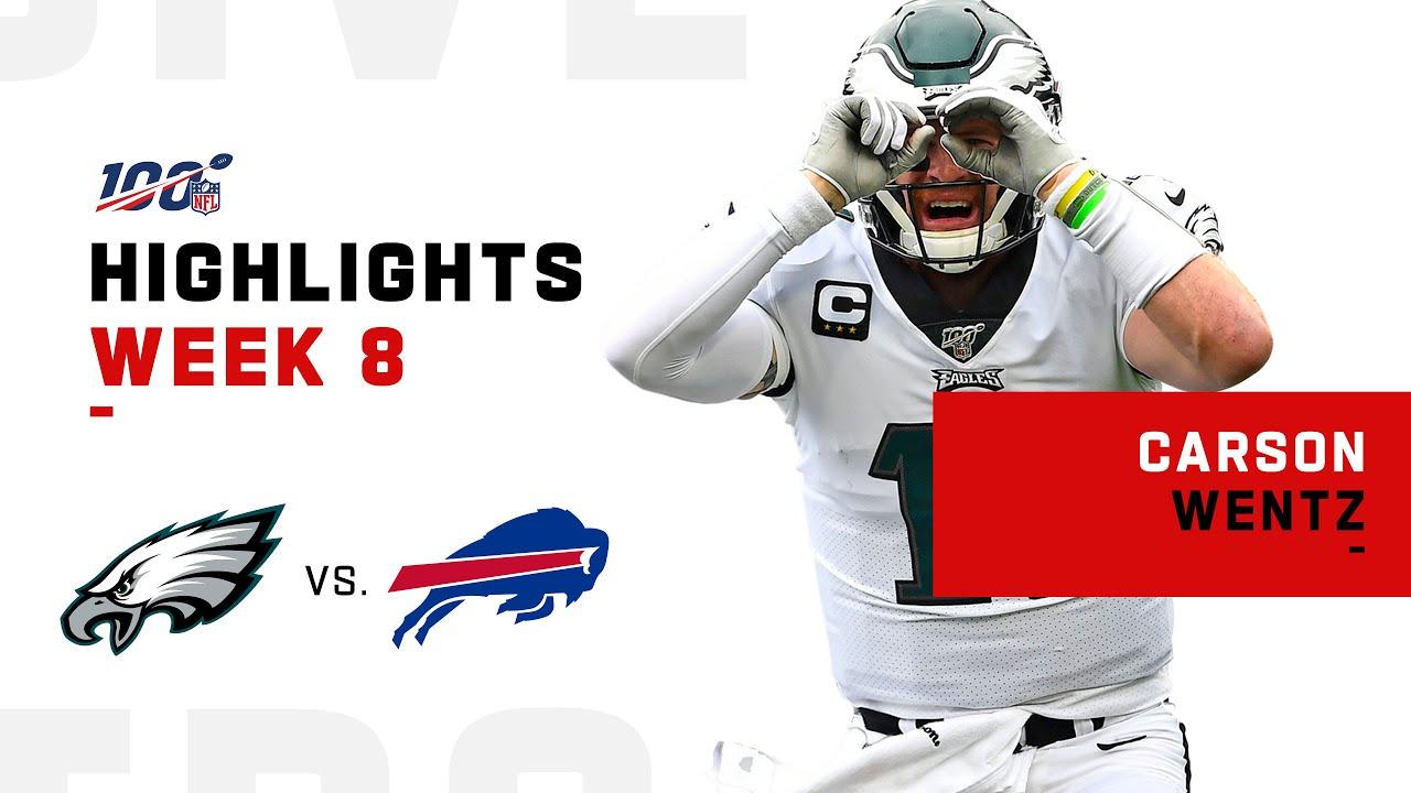 Destaques de Carson Wentz vs. Contas | NFL 2019 – NFL