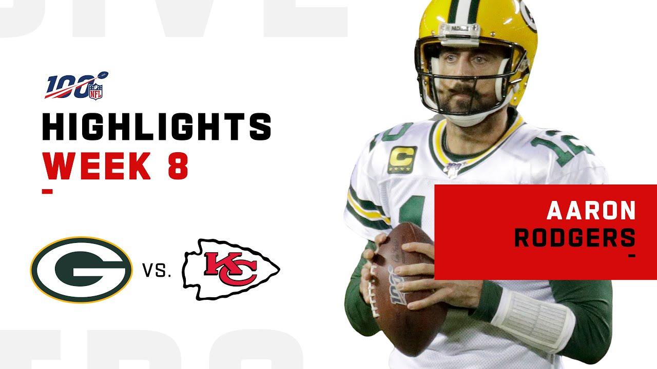 Aaron Rodgers lança um show com 334 jardas totais e 3 TDs   Destaques da NFL 2019 – NFL