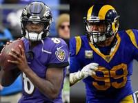 O que observar em Ravens-Rams em 'MNF'