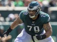 Brandon Brooks, do Eagles, abre mão do controle da ansiedade