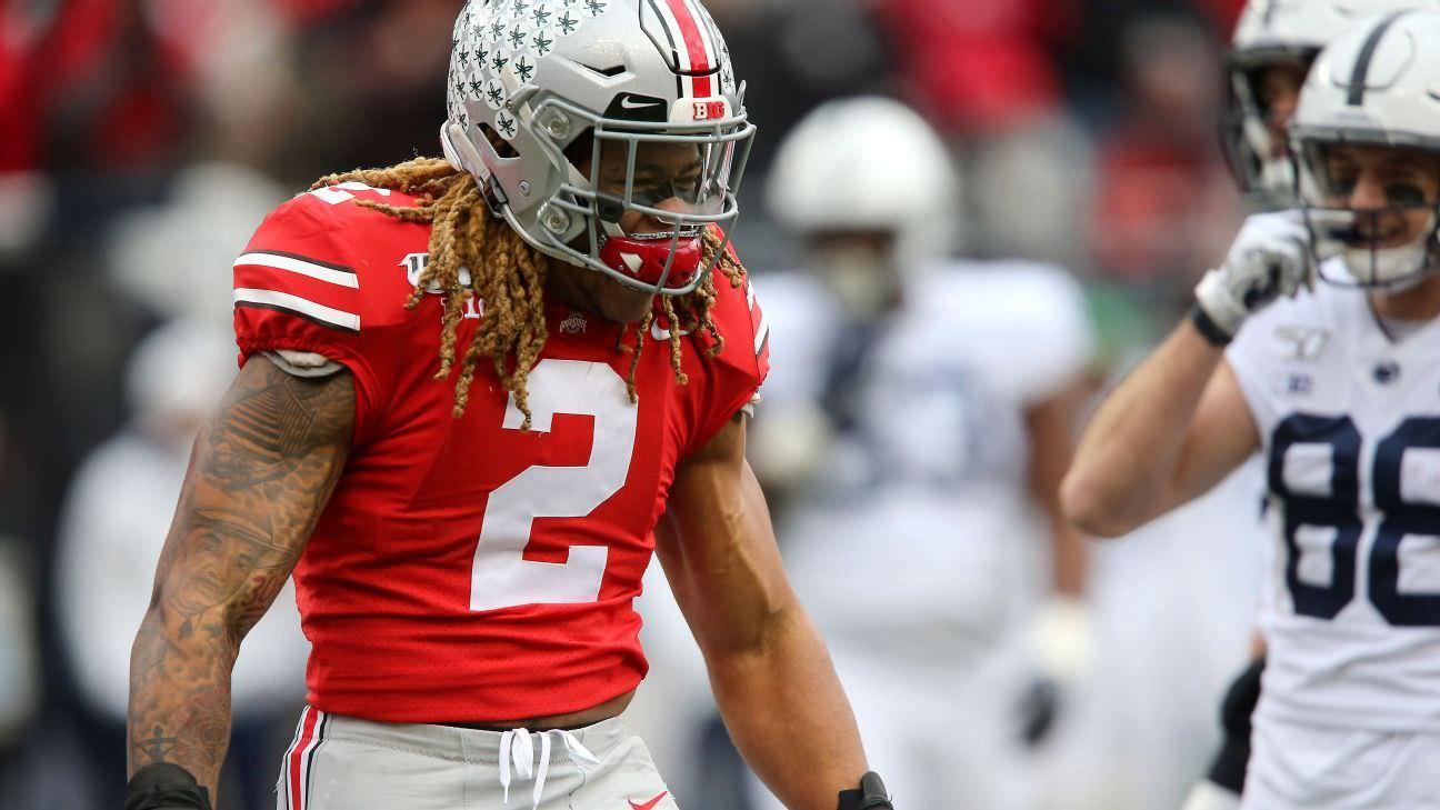 Kiper da NFL para o draft de 2020 no Big Board: Alguém pode liderar Chase Young?