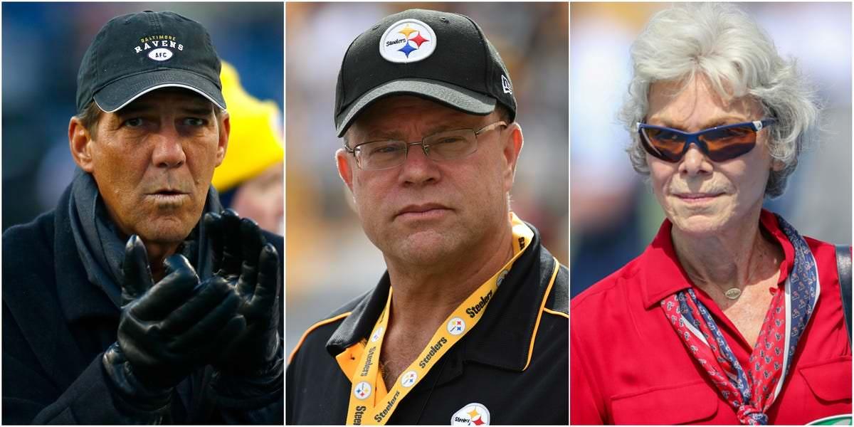 Os 15 mais ricos bilionários proprietários de clubes da NFL e como fizeram sua fortuna