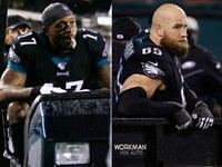 Eagles perdem Jeffery e Johnson por lesão x Giants