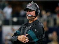 Doug Pederson: 'Somente se' os WRs fossem saudáveis para o Eagles
